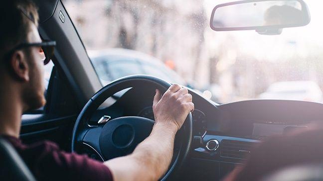 ขับรถยนต์
